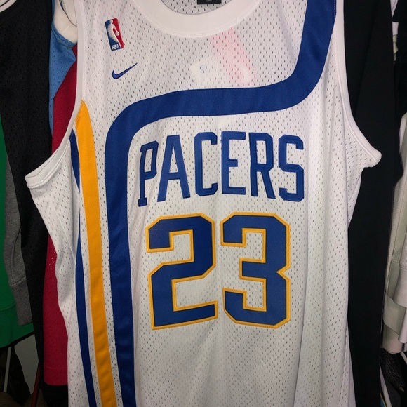 best sneakers f9416 b5da9 Ron Artest Men's XL Nike Indiana Pacers Jersey NWT